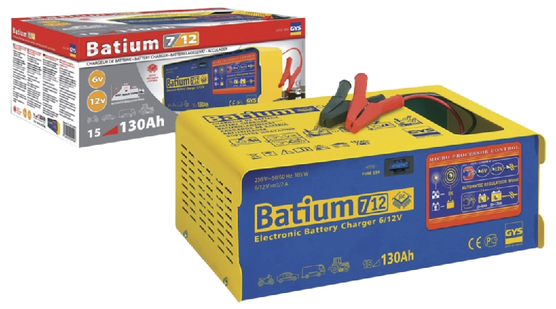 Batium 7-12 Automatic Battery Charger